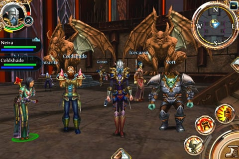 Gameloft's WOW-Like Order & Chaos MMORPG Rolls Out In The ...