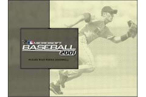 Microsoft Baseball 2001 Download (2000 Sports Game)