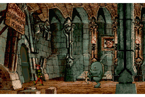 Curse of Enchantia (1992) by Core Design Amiga game