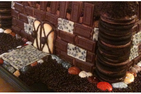 Conquering the Chocolate Castle | Beckilicious