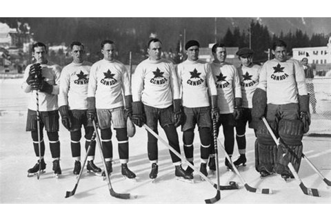 Canada history: Jan 25, 1924- Hockey gold at the first ...