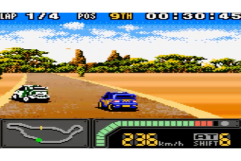 Top Gear Rally 2 (Gameboy Color Gameplay) - YouTube