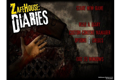 Zafehouse: Diaries (2012) by Screwfly Studios Windows game