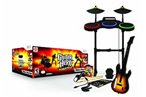 Guitar Hero: World Tour - Complete Band Game (Wii): Amazon ...