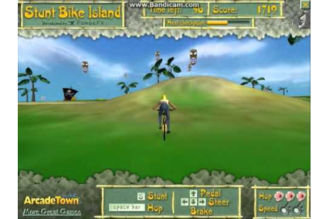 Stunt Bike Island - Bmx-Games.org - YouTube