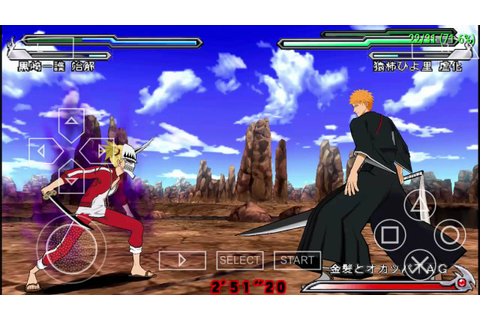 Bleach: Heat the Soul 5 PPSSPP Gold Android/PC - YouTube