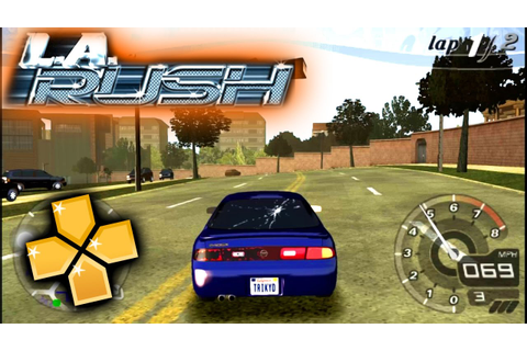 L A Rush PPSSPP Gameplay Full HD / 60FPS - YouTube