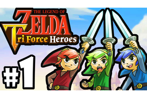 The Legend of Zelda Triforce Heroes PART 1 Gameplay ...