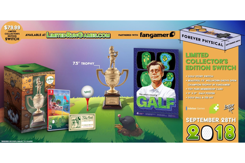Limited Run Games Reveals Golf Story Collector's Edition ...