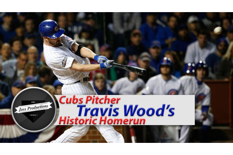 *NEW* Cubs Relief Pitcher Homers In Game 2 of NLDS (Travis ...