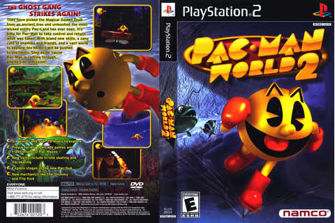 Pac-Man World 2 Sony Playstation 2 Game