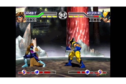 X-men Mutant Academy - Gameplay PSX (PS One) HD 720P ...