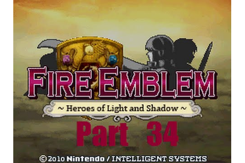 Fire Emblem: Heroes of Light and Shadow Walkthrough Part ...