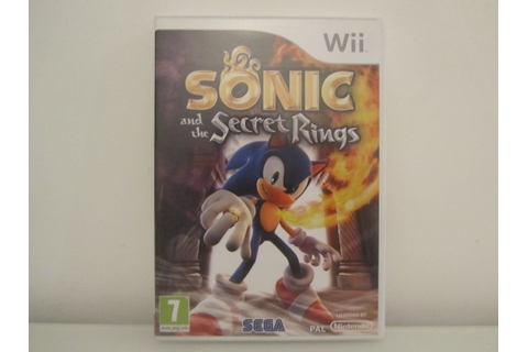 Sonic And The Secret Rings Front - Rappy CaveRappy Cave