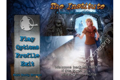 The Institute - A Becky Brogan Adventure - Download Free ...