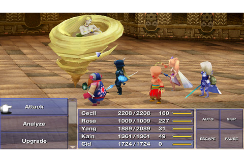 Final Fantasy IV (iPhone / iPad / Android) Review | GameDynamo