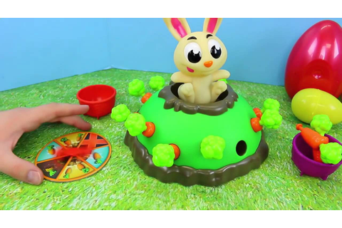 Jumping Jack Pop Rabbit Kids Board Game Bunny Surprise ...