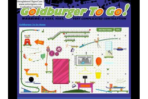 Zoom: Goldburger To Go Game - YouTube
