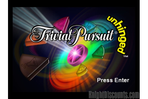 Trivial Pursuit Unhinged PC game