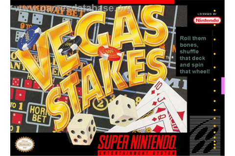 Vegas Stakes - Nintendo SNES - Games Database