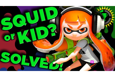 Game Theory: Are You a Kid or Squid? - Splatoon SOLVED ...