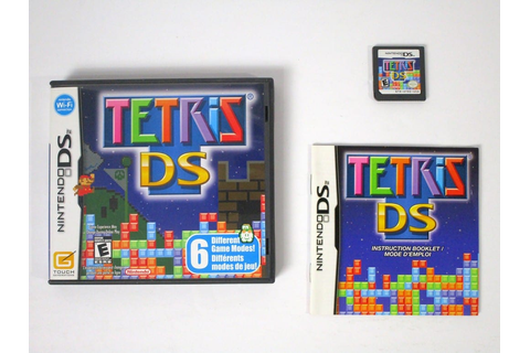 Tetris DS game for Nintendo DS (Complete) | The Game Guy