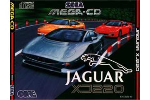 Jaguar XJ220 - Sega CD - Games Database
