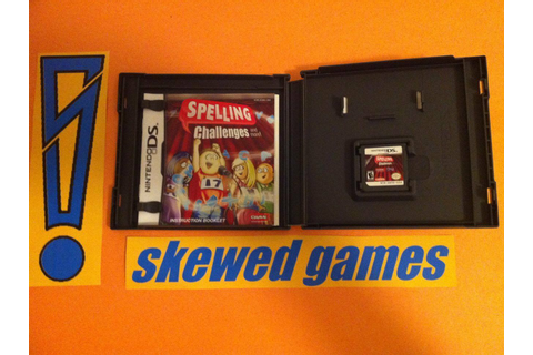 Spelling Challenges - and more - Nintendo DS COMPLETE ...