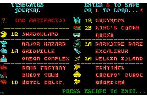 Time Bandit Download (1988 Role playing Game)