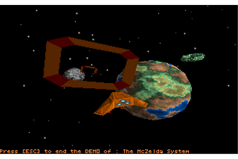 Star Quest I in the 27th century | Old MS-DOS Games ...