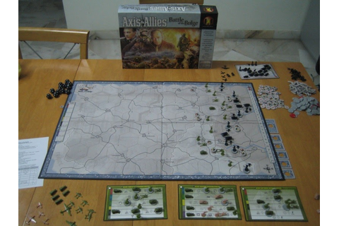 Hiew's Boardgame Blog: Axis & Allies Battle of the Bulge