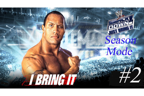 WWF Smackdown! Just Bring It Season Mode Part 2 - YouTube