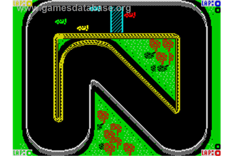 Super Sprint - Sinclair ZX Spectrum - Games Database