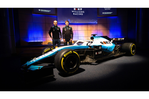Williams reveal new livery for 2019 FW42 | Formula 1®