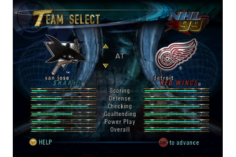 Play NHL Breakaway 98 Online N64 Game Rom - Nintendo 64 ...