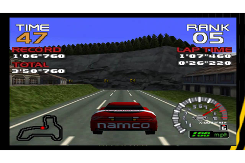 Ridge Racer 64 Gameplay (N64) - YouTube