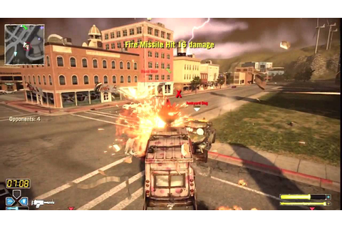 Twisted Metal PS3 Gameplay - Classic Death Match ...