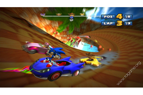 Sonic & SEGA All-Stars Racing - Download Free Full Games ...