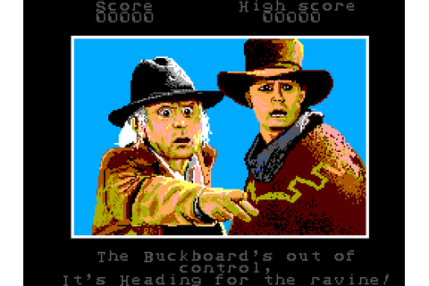 Back to the Future Part III (1991) by Mirrorsoft Master ...