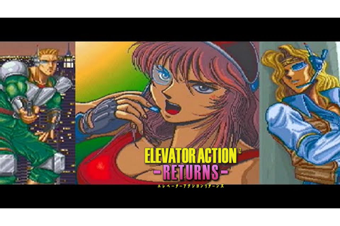 Elevator action -returns- - YouTube
