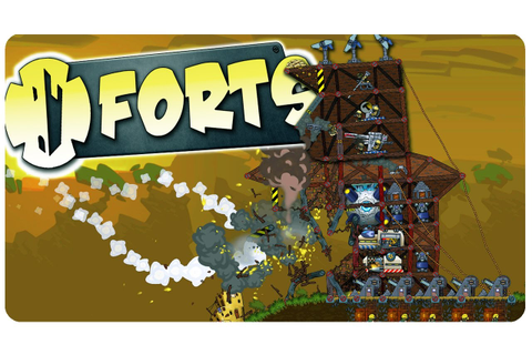 Forts Game - Build Physics Based Fortresses & DESTROY THEM ...