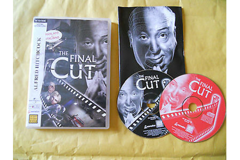 PC game Alfred Hitchcock Presents The Final Cut Game CD ...