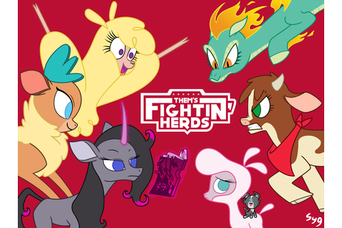 Them's Fightin' Herds! by Syggie on DeviantArt