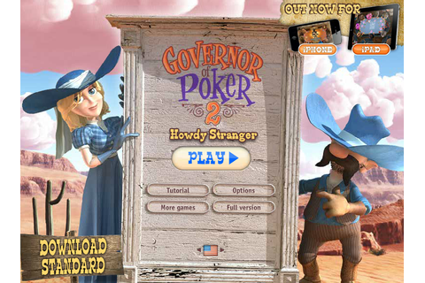 Governor of Poker 2 - Free Games Online