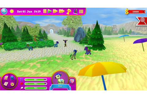 Pony World 3 - Horse Games Online