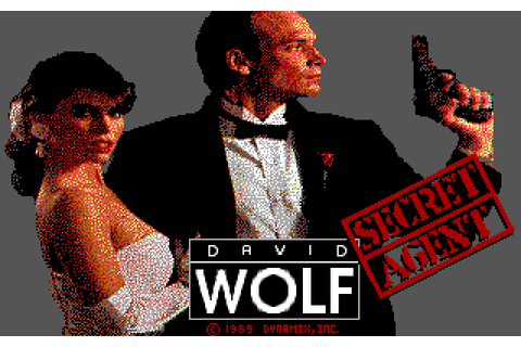Super Adventures in Gaming: David Wolf: Secret Agent (MS ...