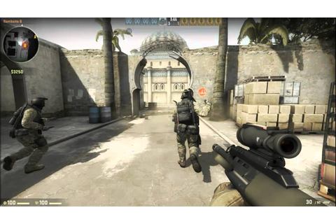Counter Strike: Global Offensive GAMEPLAY- Single Player ...