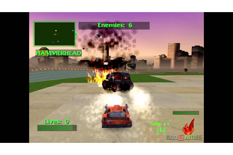 Twisted Metal 2 - Gameplay PSX (PS One) HD 720P ...