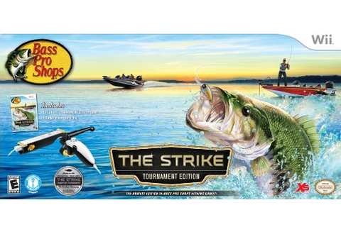Buy Nintendo Wii Bass Pro Shops: The Strike Tournament ...