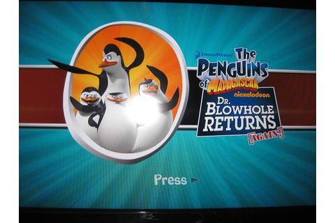 [PS3]Penguins of Madagascar: Dr.Blowhole Returns - Again ...